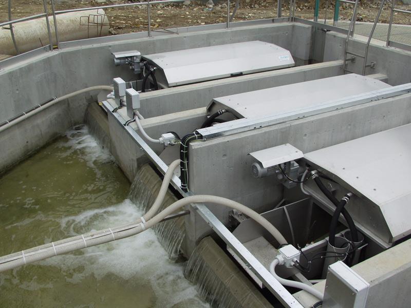 Mikrofiltrace a filtrace odpadních vod - diskový filtr